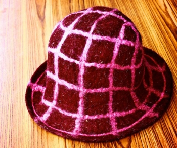 Plaid Check Hat