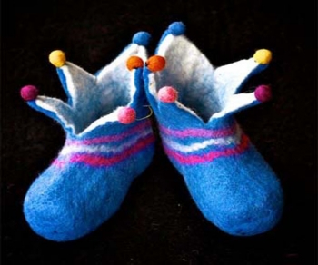 Prince Crown Baby shoe